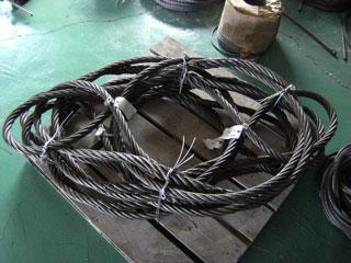 太径ロープ手編みワイヤ